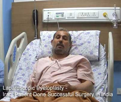 Laparoscopic Pyeloplasty - Iraqi Patient Done Successful Surgery in India